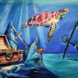 shipwreck-treasure-sea-turtle-painting
