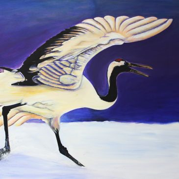The Crane Kung Fu Painting is Done!