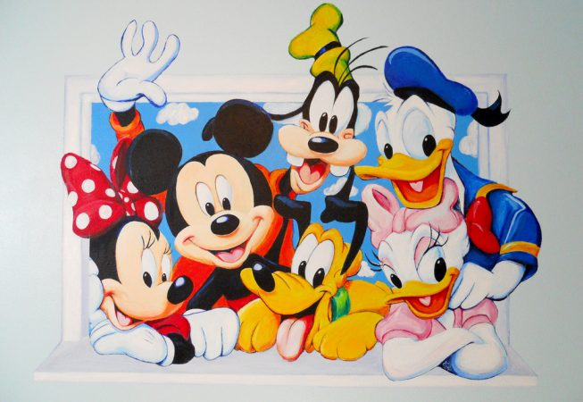 mickey mouse mural ivy bath wall mural disney mickey mouse xxl photo wallpaper 831dc