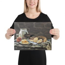 Old Fashioned Bread and Butter Art Print on Canvas